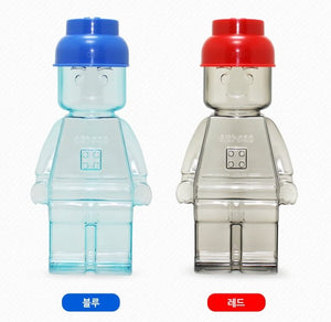 Oxford Block Cap Figure Water Bottle 350ml