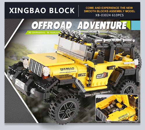 Xingbao Off-road Adventure Jeep | XB03024