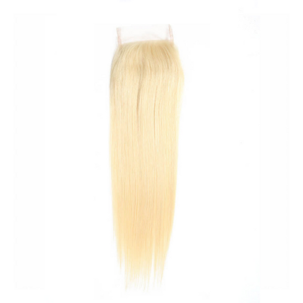 Barbie Blonde Lace Straight Closure - Glam Xten Collection
