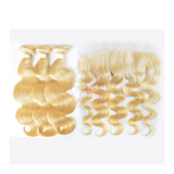 613 Blonde Body Wave + Frontal Deals - Glam Xten Collection