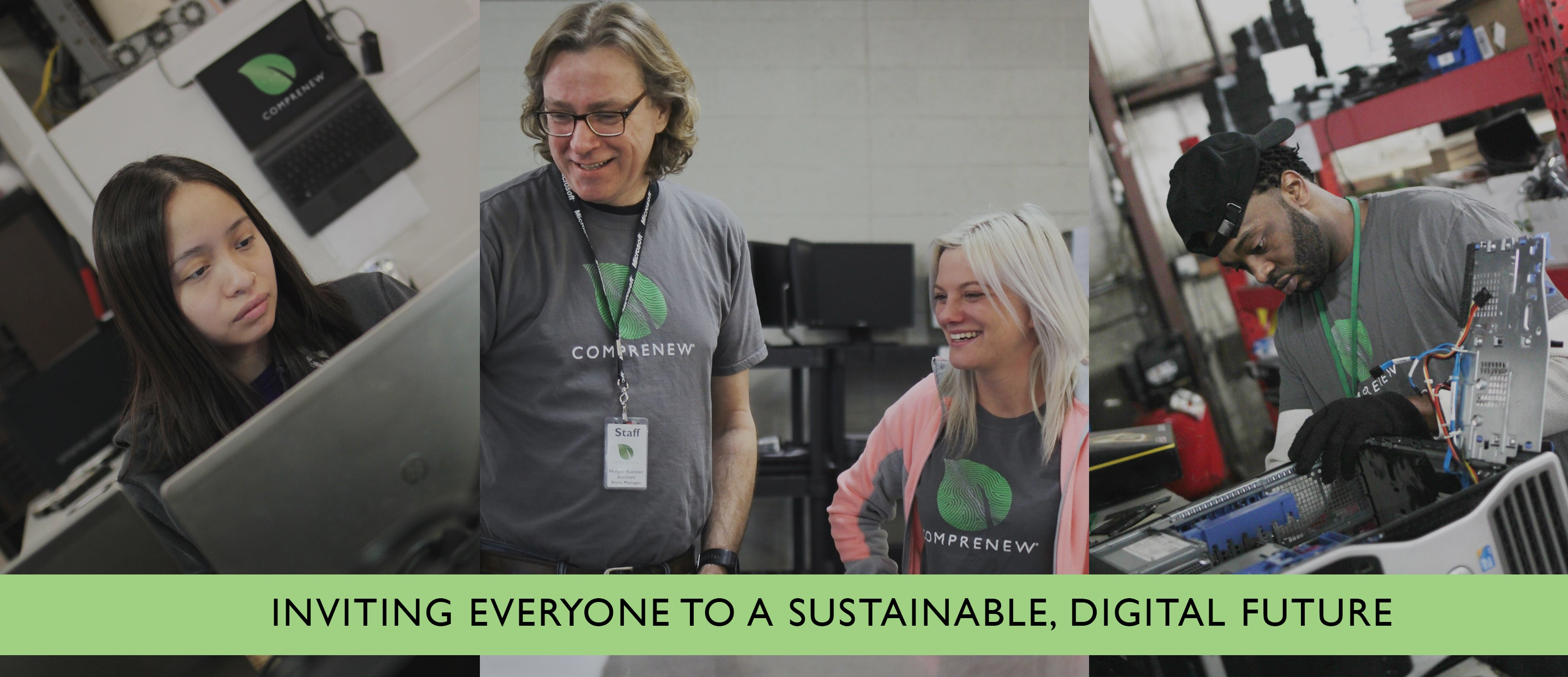 Inviting Everyone to a Sustainable Digital Future - Shop for a Cause