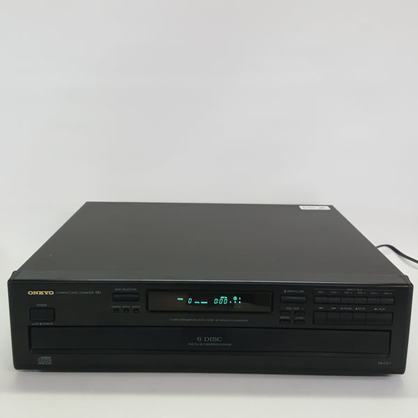 Onkyo DX-C211 6 Disc CD Changer Analog Audio Output