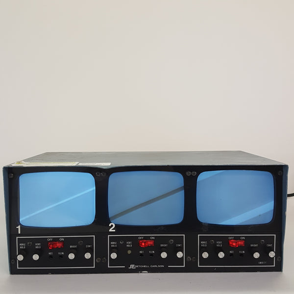 Setchell Carlson 6M917T 3 Video Monitor Display - For Parts or Repair