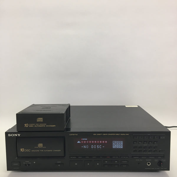 SONY CDP-C910 Stereo 10 Disc Automatic Changer