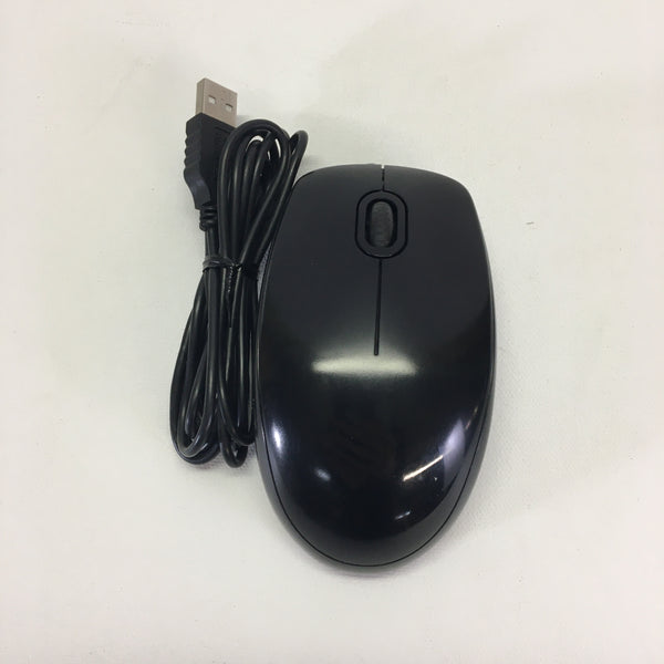 Logitech Wired Optical Scroll Mouse USB B100
