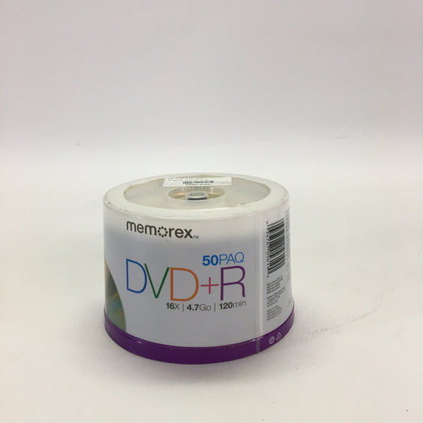 Memorex DVD+R 50 Pack NEW