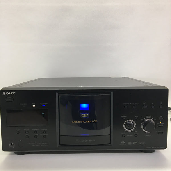 Sony DVP-CX285v 400 Disc CD/ DVD/ SACD Player No Remote