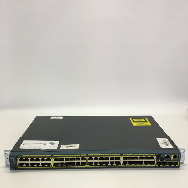 Cisco Catalyst WS-C2960S-48TS-S 48 x Gigabit Ethernet 2 x SFP Managed Switch