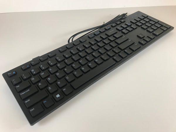 Lot of 10 | Dell Wired USB Keyboard Black KB216p