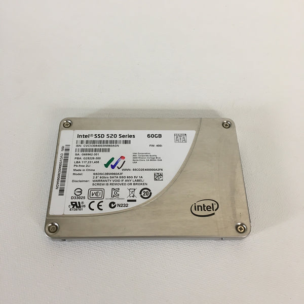 Intel 520 Series 60GB Solid State Drive SSD  2.5'' SATA