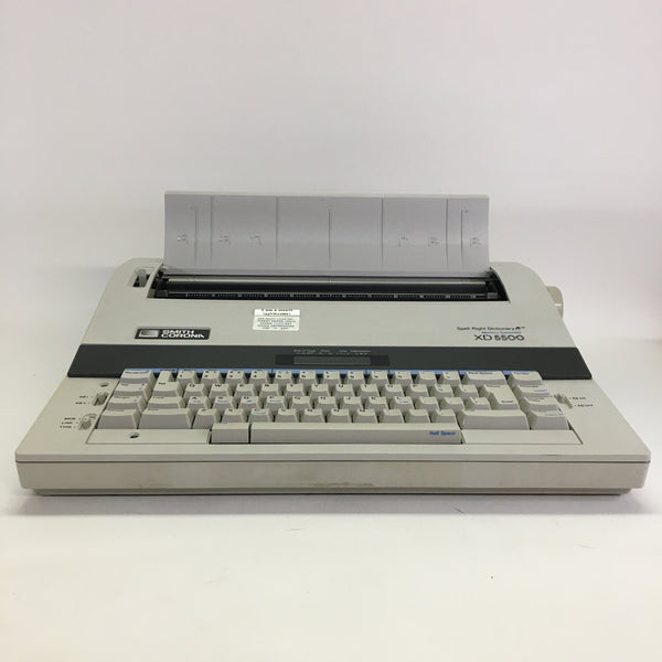 Vintage Smith Corona XD5500 Electronic Memory Typewriter