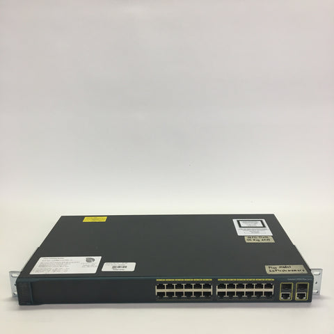 Cisco Catalyst WS-C2960+24TC-L 24 x Fast Ethernet 2 x GE 2 x SFP Managed Plus Switch