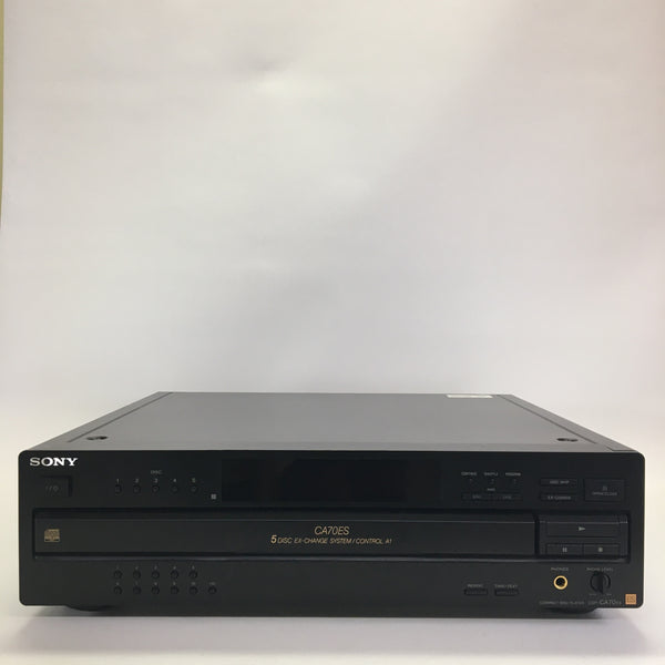 Sony CDP-CA70ES CD Player 5 Disc W/ A1 Control and Remote