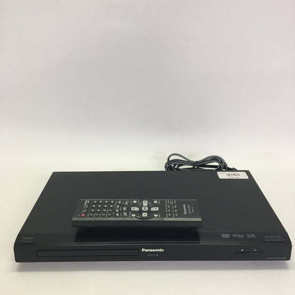 Panasonic DVD-S38 DVD/CD Player with Remote, Component Video, Digital Audio