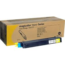 Konica Minolta Magicolor 7300 Series Yellow Toner Cartridge Y 1710530-002