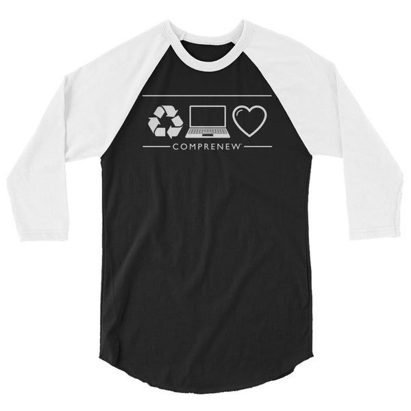 Comprenew ICONS: 3/4 sleeve raglan shirt