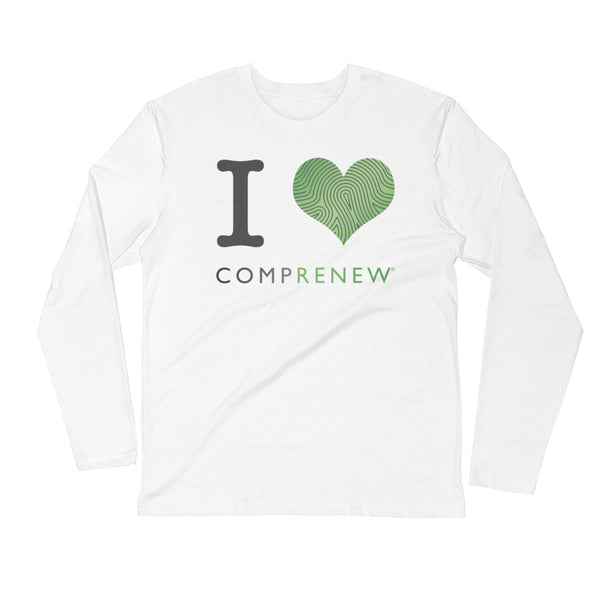 I Heart Comprenew: Long Sleeve Fitted Crew