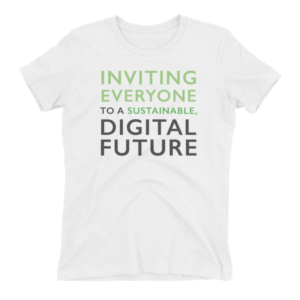 Comprenew Slogan: Women's T-shirt