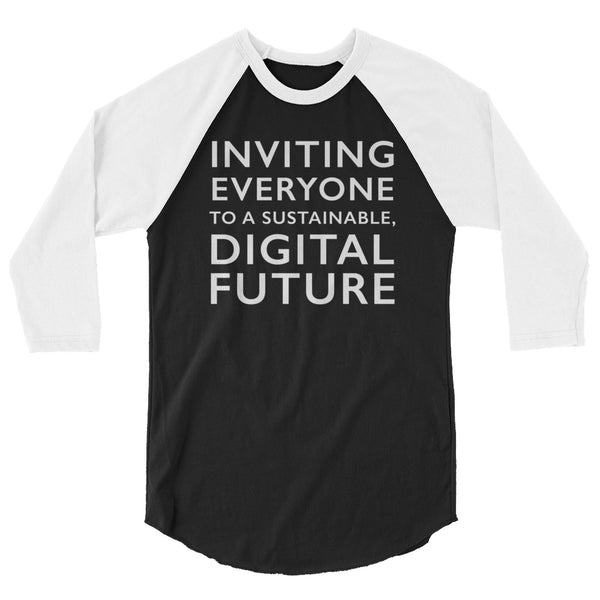 Comprenew Slogan: 3/4 Sleeve Raglan Shirt