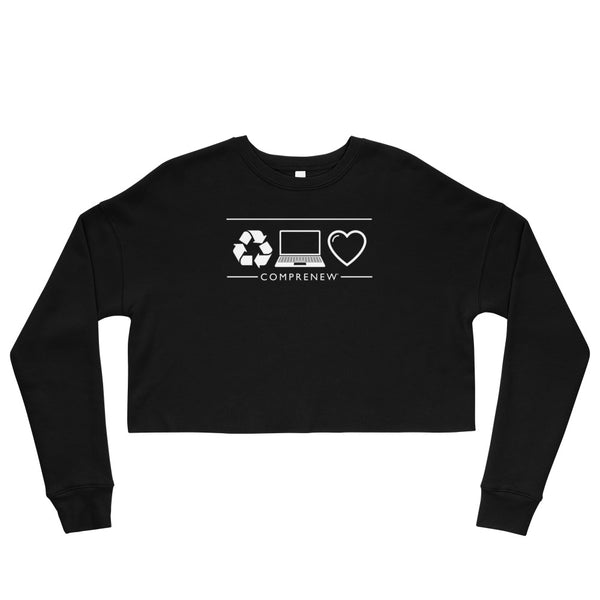 Comprenew ICONS: Women's Cropped Sweatshirt