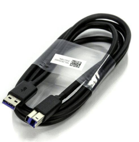 USB Type A to USB 3.0 Type B Cable Plug Black 5KL2E05502