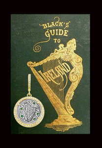 Celtic Harp and Shamrock Love Token
