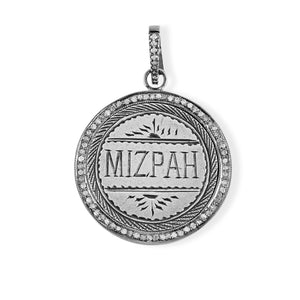 Mizpah Love Token Engraved on a Canadian Quarter