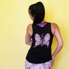 Goddess Purple Wings Top