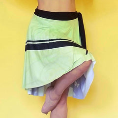 Goddess Mint Wrap Skirt