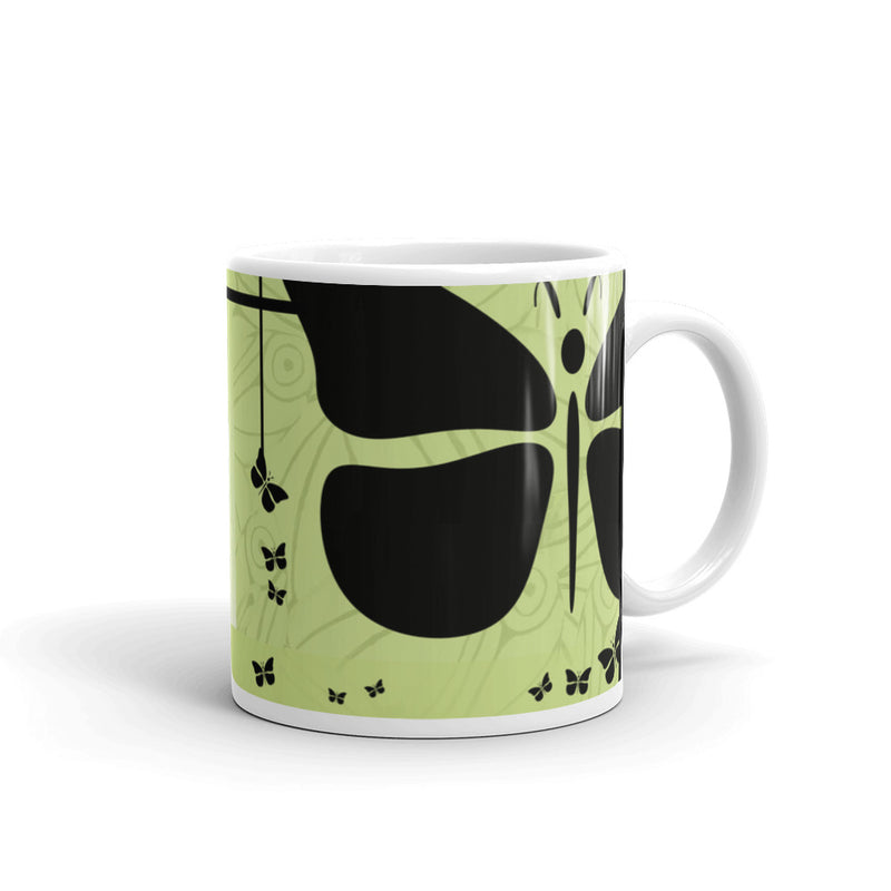 RedButterfly by Omaris, mug, gifts under $25.00, gift ideas, coffee mug