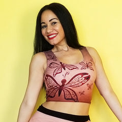 Sienna Butterfly Crop Top