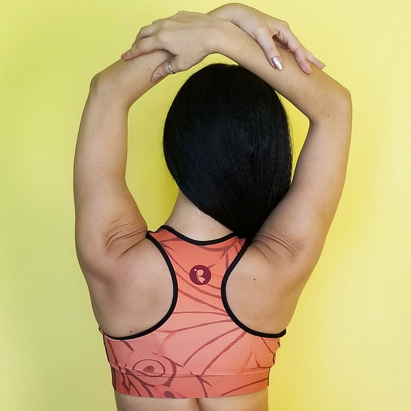 RedButterfly by Omaris, sport bras, sweatproof, butterfly inspired, matching outfits