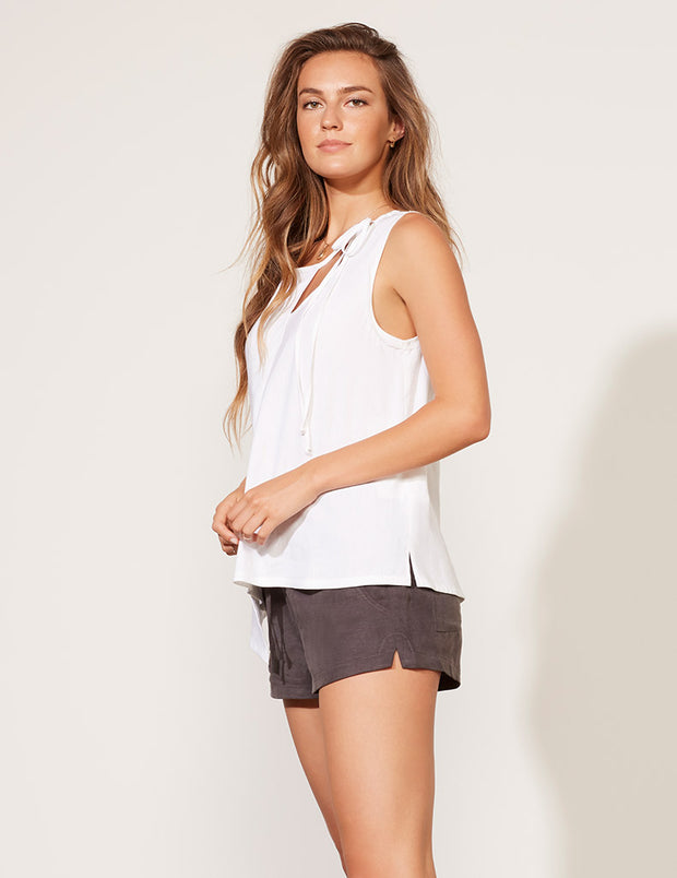Cross Front Tie Top