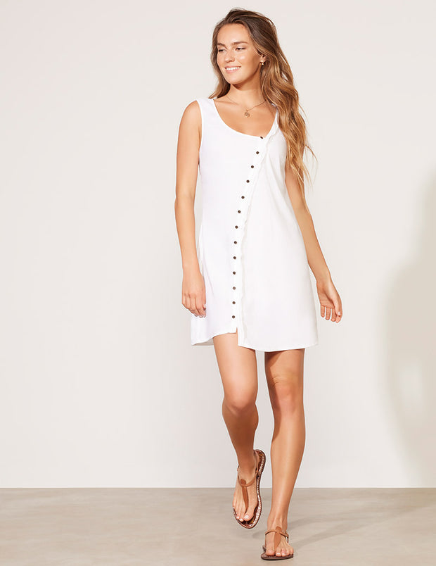 Cross Front Mini Dress