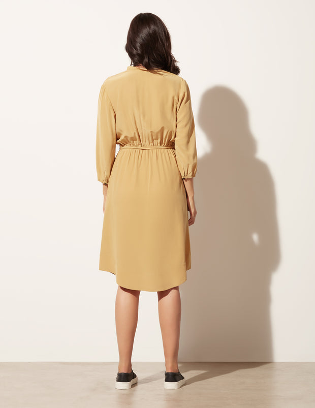 3/4 Sleeve Shirtdress