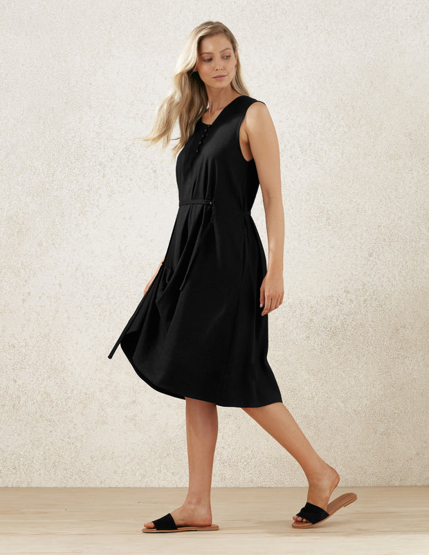 casual adjustable strap dress