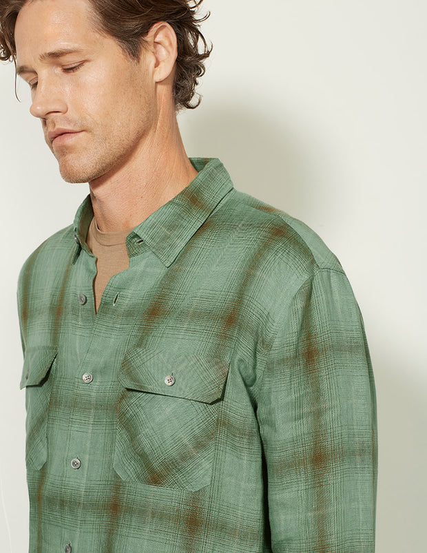 Double Pocket Long Sleeve Shirt