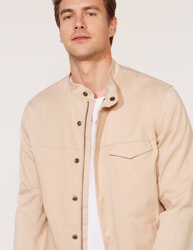 Washed Twill Jacket
