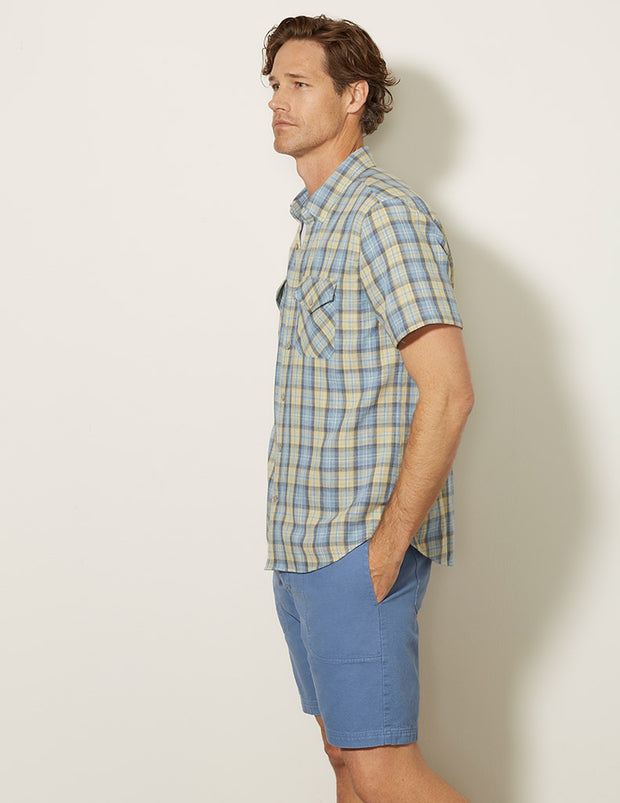 Double Pocket Short Sleeve Shirt