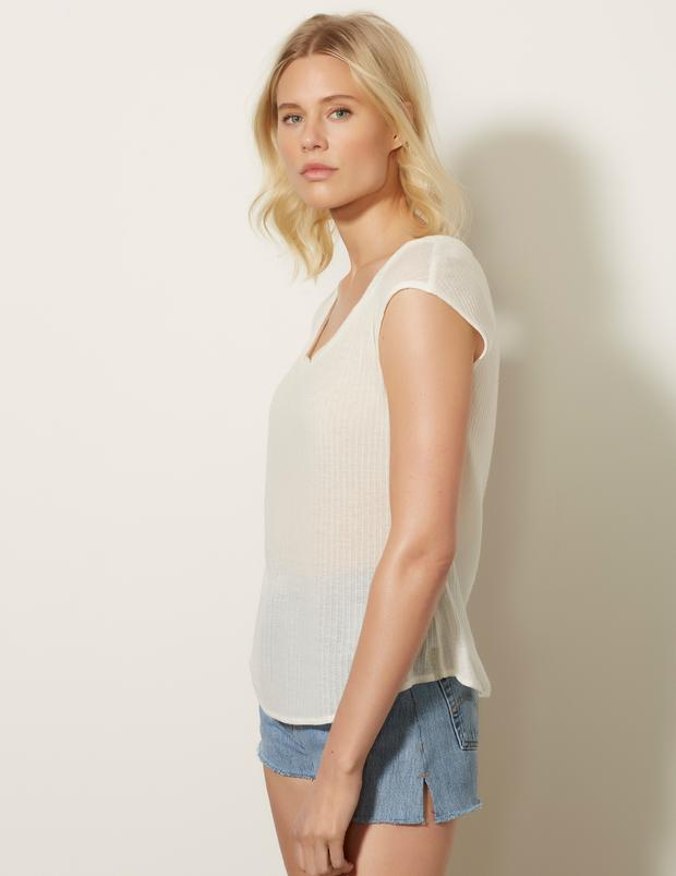 Easy Scoop Neck Top