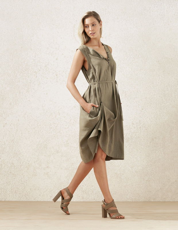 Adjustable Strap Dress
