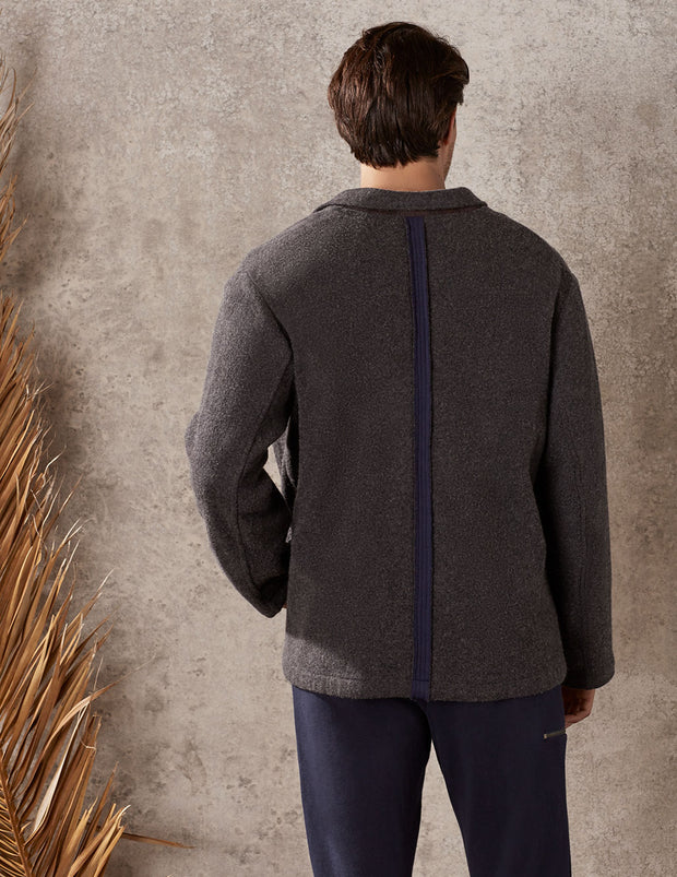 Charcoal Workday Jacket