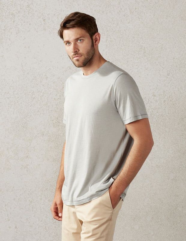 S/S Tee in Cashmere Jersey