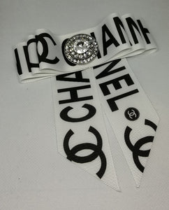 """CHANEL INSPIRED BROOCH"""
