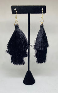 """TASSEL EARRINGS"""
