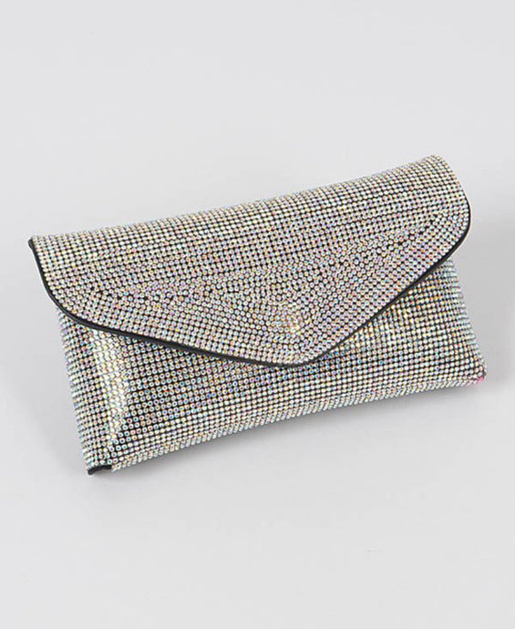 """RHINESTONE BELT BAG"""
