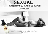 Water based sexual manifestation lubricant