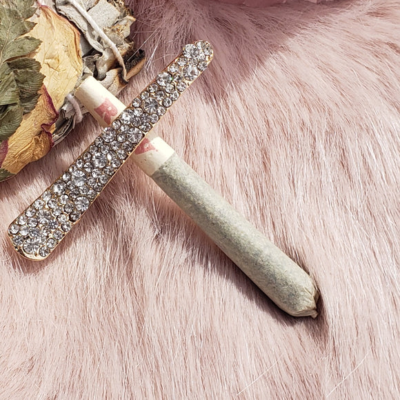 Crystal Clip - Herbal Ritual Accessory