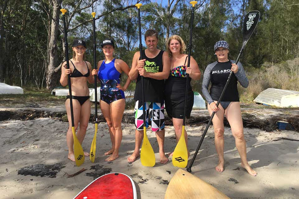 Stand Up Paddle Boarding Jervis Bay Sup Boarding In Jervis Bay Nsw