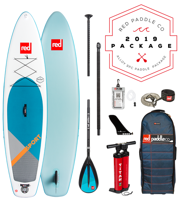 Red Paddle Co Ride 2019 Inflatable Paddle Board 11'3 Sport Alloy
